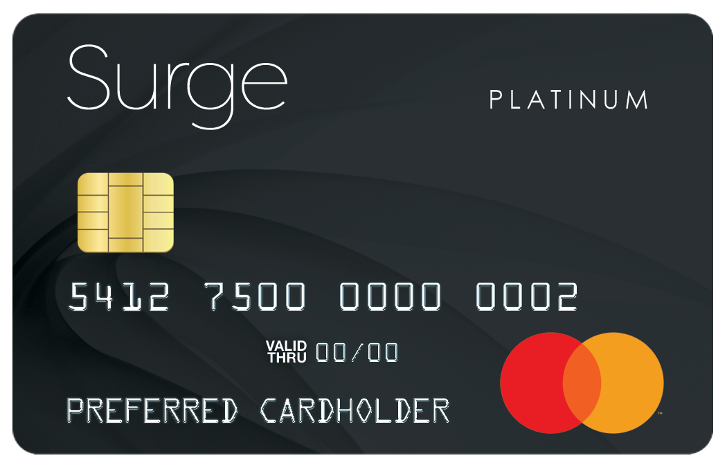 the surge credit card
